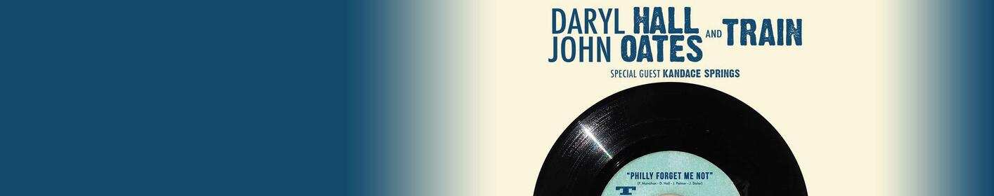 Win Daryl Hall & John Oates & Train tickets at 8:05a, 12:05p & 3:05p.