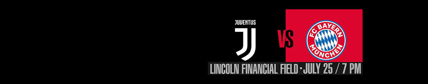 WIN TICKETS! Juventus vs. Bayern Munich at the Linc July 25th!