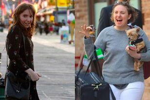 Lena Dunham's Side-By-Side Comparison Pics Go Viral for Right Reason