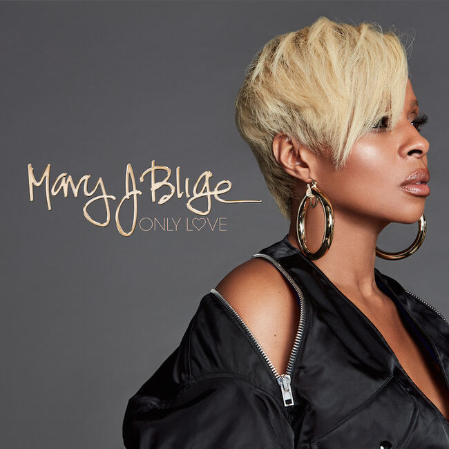 "Mary J. Blige - ""Only Love"" Single Cover Art"