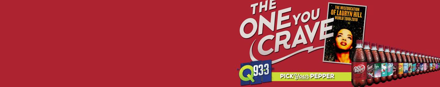Click here to find out where you can join Q93 and Dr Pepper and possibly win Lauryn Hill tickets!