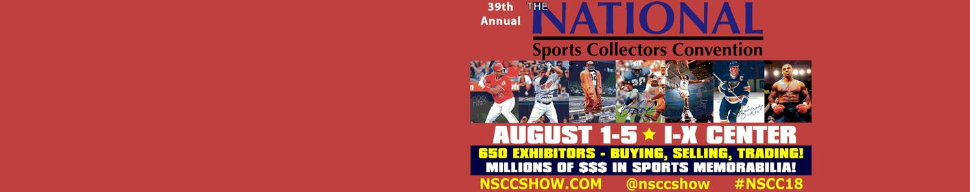 Win VIP Passes to the National Sports Collectors Convention