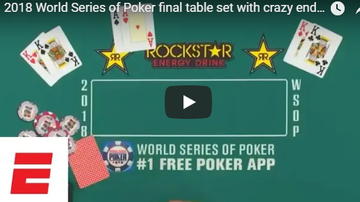 Seattle - Sports - Crazy Hand Determines Final Table at World Series of Poker
