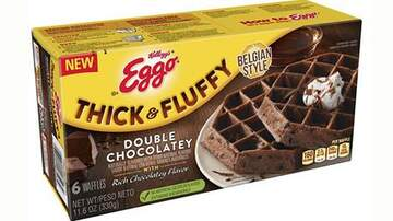 Mary Kennedy - Eggo Is Releasing New Chocolate Waffles Stuffed With Chocolate Chips