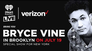 image for Win A Pair of Tickets to iHeartRadio LIVE with Bryce Vine