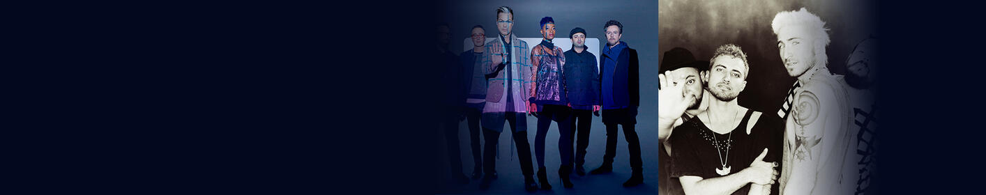 Jeep on the Rocks: Fitz & The Tantrums and WALK THE MOON