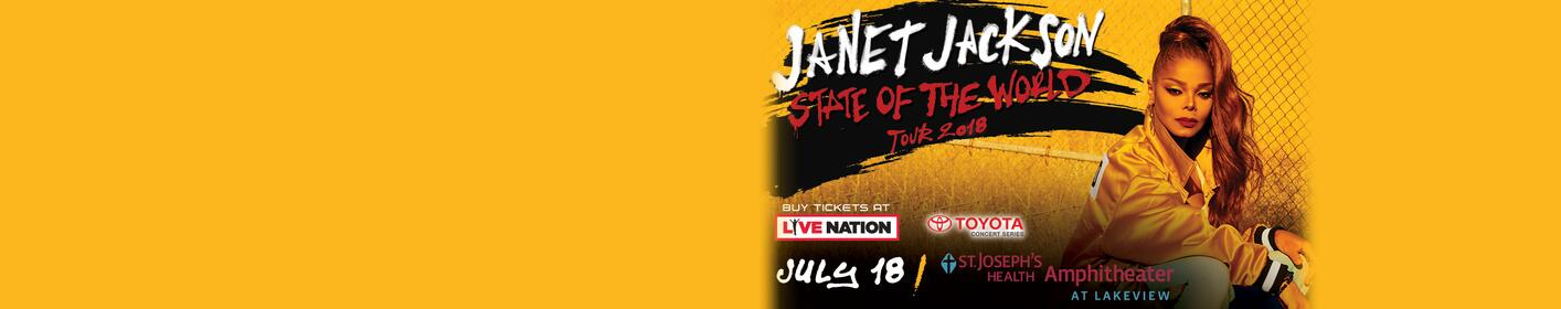 Win the BEST SEATS IN THE HOUSE to see Janet Jackson