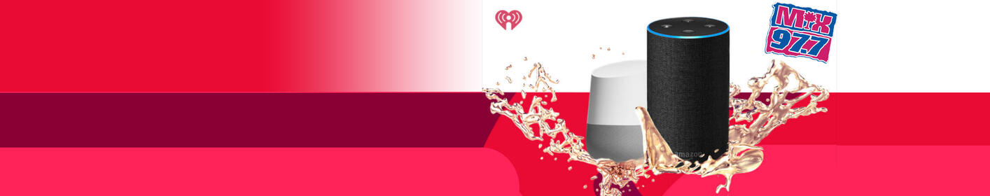 Get Mix 97.7 on iHeartRadio at home!