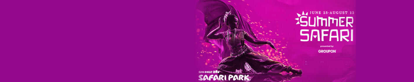 Enter for a chance to win a 4-pack of tickets to the San Diego Zoo Safari Park!