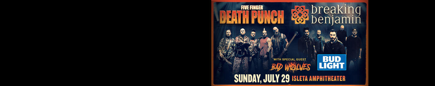 Get on the Bud Light Party Deck At Five Finger Death Punch!