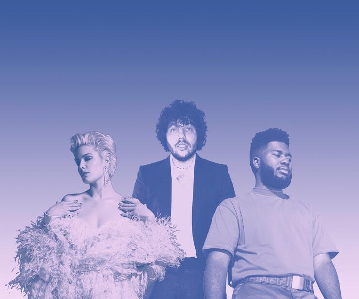 Benny Blanco Teams Up With Halsey & Khalid For New Song