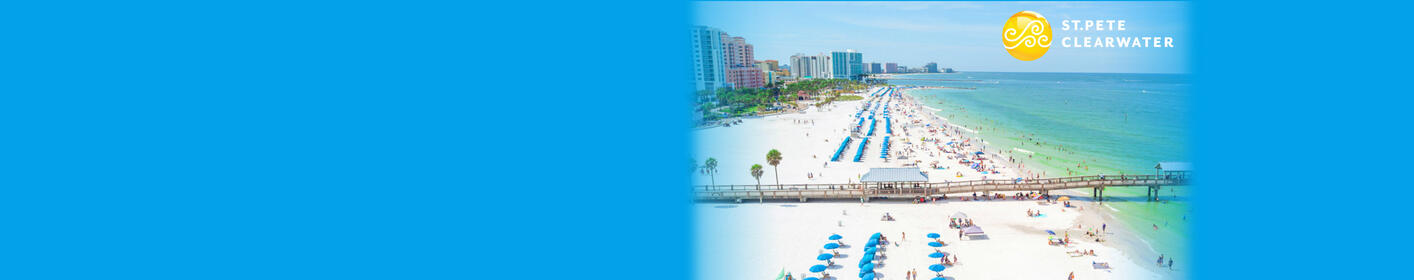 Listen at 4:40p to win a Visit St. Pete Clearwater getaway!