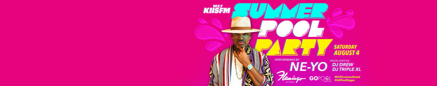 Enter for a chance to party with Ne-Yo at the KIIS Summer Pool Party in Flamingo Las Vegas!