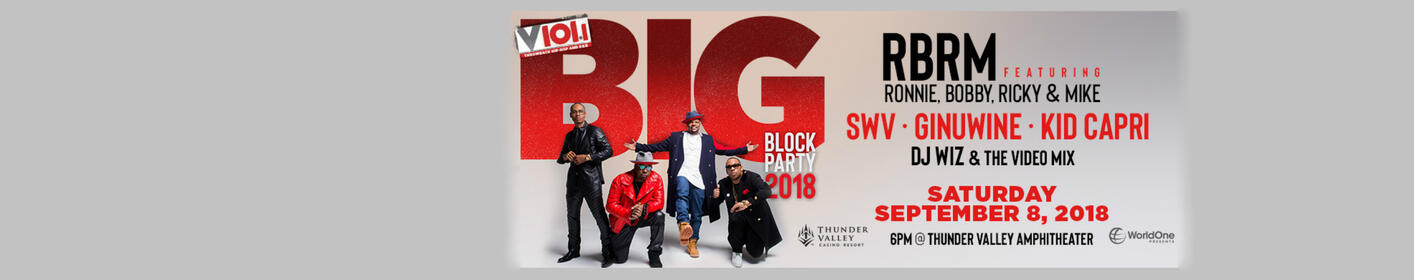 V101's Big Block Party Is Coming!