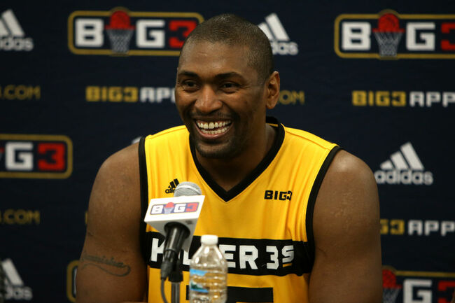 fe6e15903 Metta World Peace Ejected From BIG3 Basketball Detroit (VIDEO ...