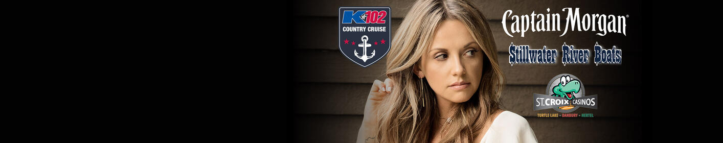 JUST ANNOUNCED: Carly Pearce on the K102 Country Cruise