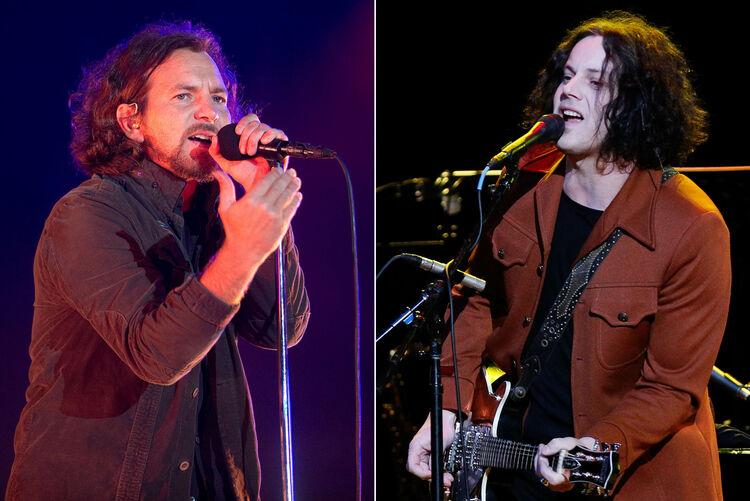 Jack White Joined Pearl Jam for Encore