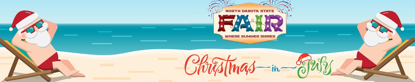 It's CHRISTMAS IN JULY! We have concert tickets to shows at the North Dakota State Fair today for HALF PRICE