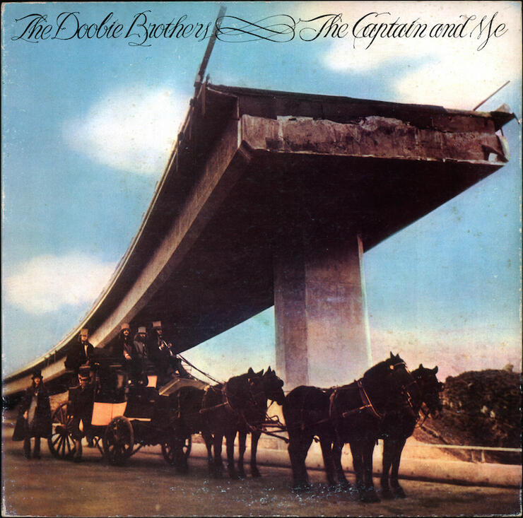 The Doobie Brothers - 'The Captain and Me' Album Cover Art