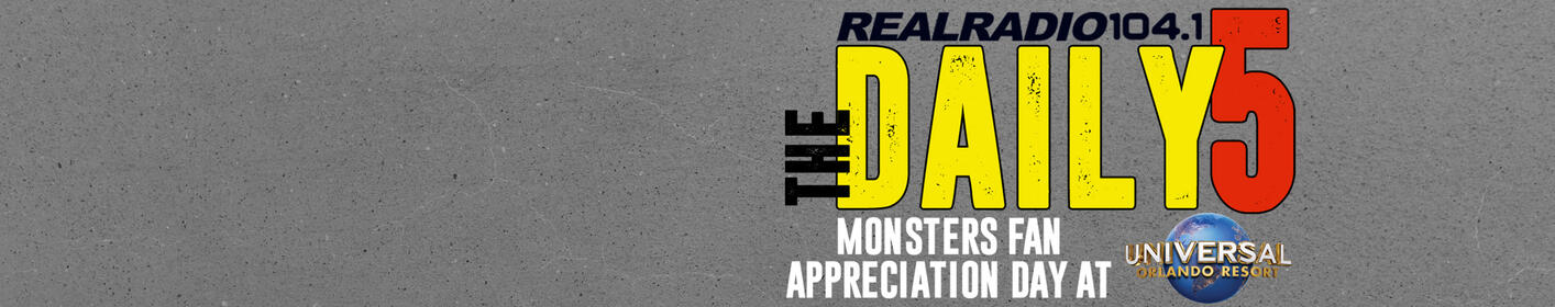 The Daily 5:  Monsters Fan Appreciation Day at Universal Orlando
