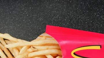 Julie's - McDonald's Fry Box Has Always Had Hidden Ketchup Holder