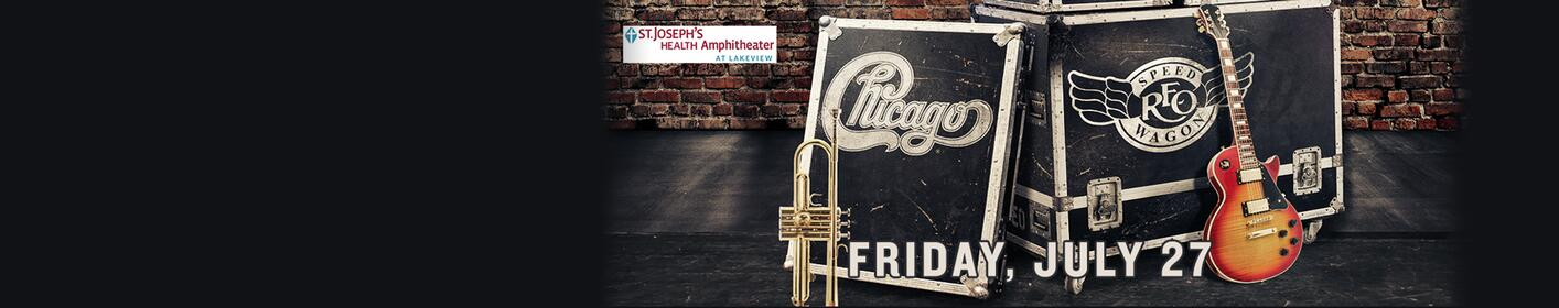 Enter to win tickets to see Chicago and REO Speedwagon