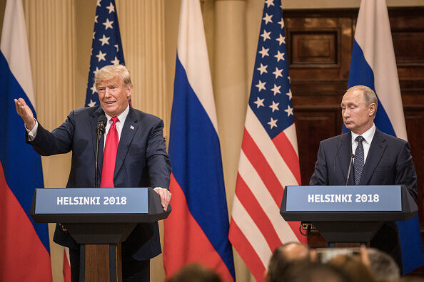 President Trump and Putin Press Conference-Getty Images