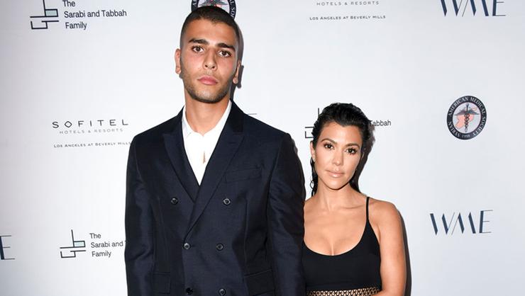 Kourtney Kardashian's Boyfriend Shames Her On Instagram For