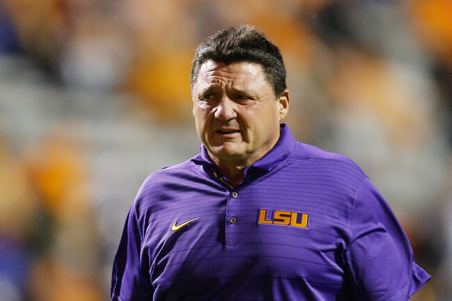 Ed Orgeron Getty Images