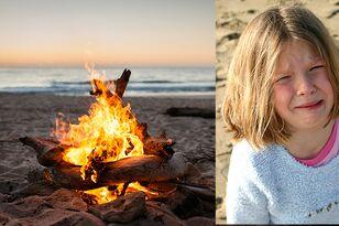 Mother Has Warning After Daughter Steps On Dangerous Hidden Beach Fire