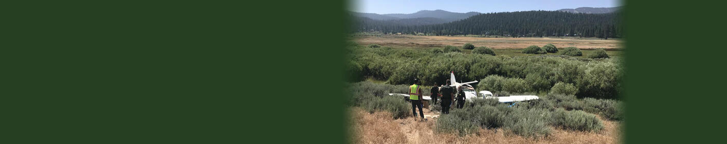 Two Dead In Single-Engine Plane Crash In Truckee