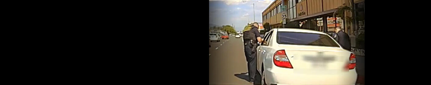 Plaintiffs Contend Police In-Car Video Of Traffic Stop Is An Edited Version