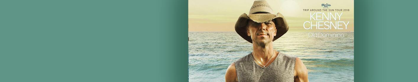Win Your Tickets to Kenny Chesney's 'Trip Around The Sun' Tour!