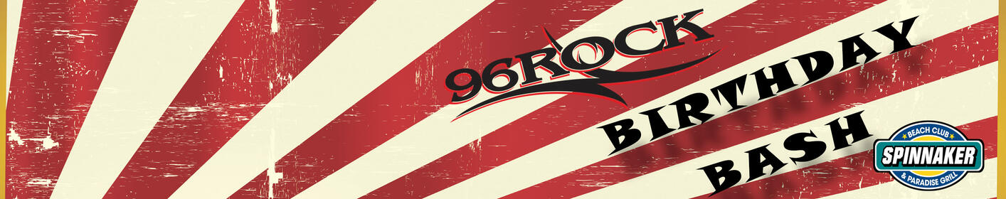 Join us to celebrate 96 Rock turning 1!