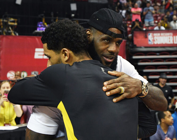 LeBron and Josh Hart