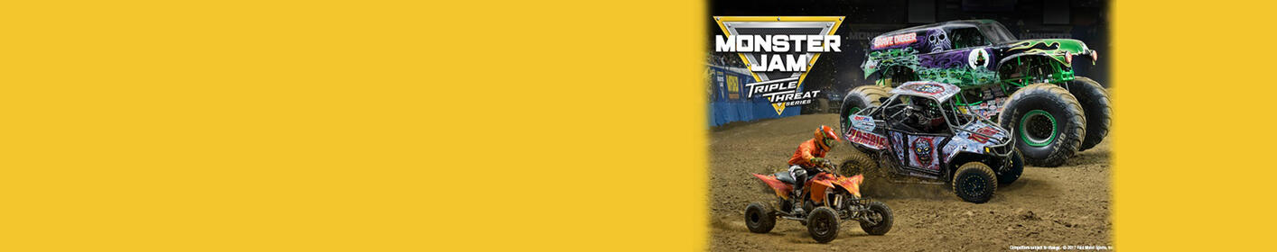 Monster Jam® Triple Threat Series™ Text To Win Weekend!