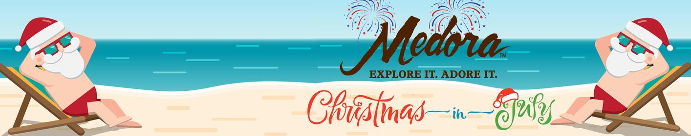 Medora Vacations is Today's Christmas In July Deal!