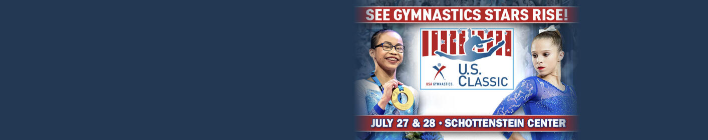 Win Tickets To The USA Gymnastics U.S. Classic