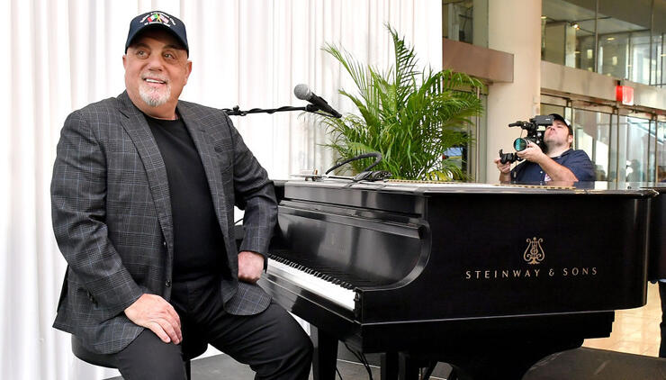 Billy Joel Honored Ahead of 100th-Career Show at Madison Square Garden