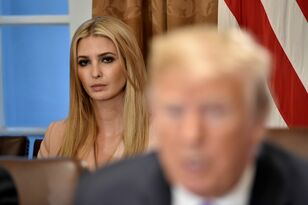 Trump and his daughter Ivanka's awkward Cabinet exchange
