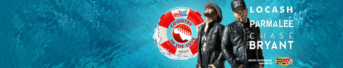 Country In The Cove Featuring LOCASH, Parmalee And Chase Bryant!