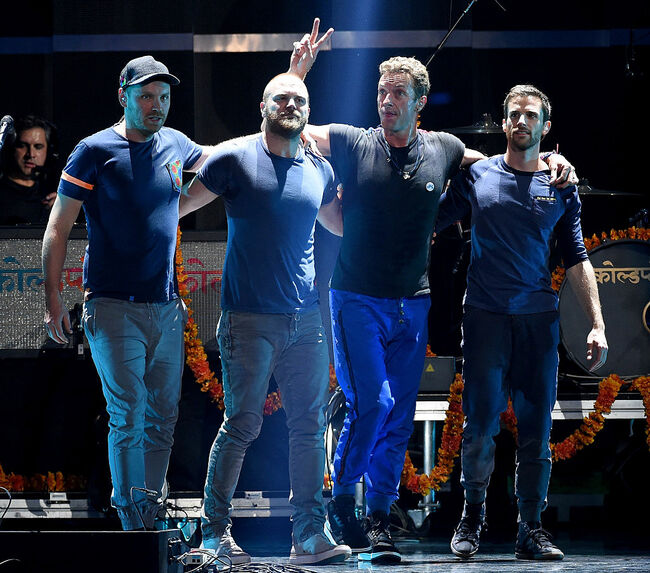 Coldplay - Getty Images