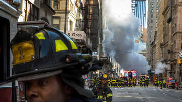 Local News - Pipe Explosion Shuts Down Flatiron District, Bystanders Warned of Asbestos