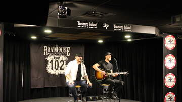 The K102 Roadhouse - PHOTOS: Jon Langston in the K102 Roadhouse
