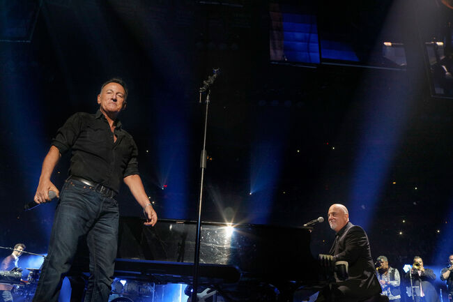 Bruce Springsteen Crashed Billy Joel's 100th MSG Performance Celebration