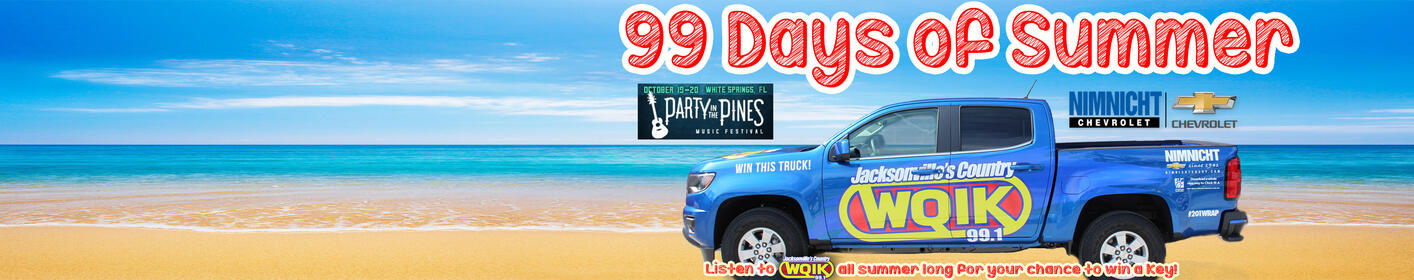 The 99 Days of Summer are here and you could win a pair of tickets to Party in the Pines