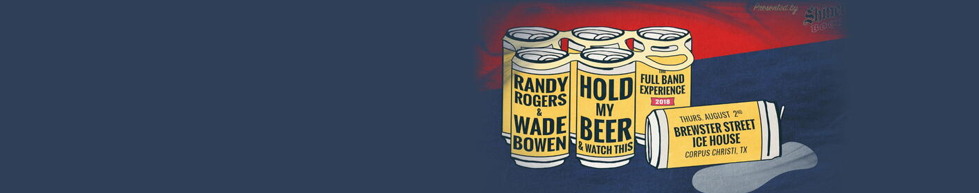 Randy Rogers & Wade Bowen Live at Brewster St. Icehouse Aug. 2nd