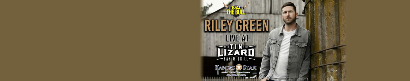 Win Tickets To See Riley Green & More At The Kansas Star Casino!