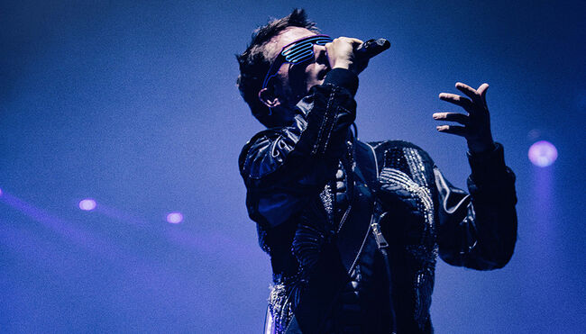 Muse's Matt Bellamy (Photo credit: Hans-Peter van Velthoven)