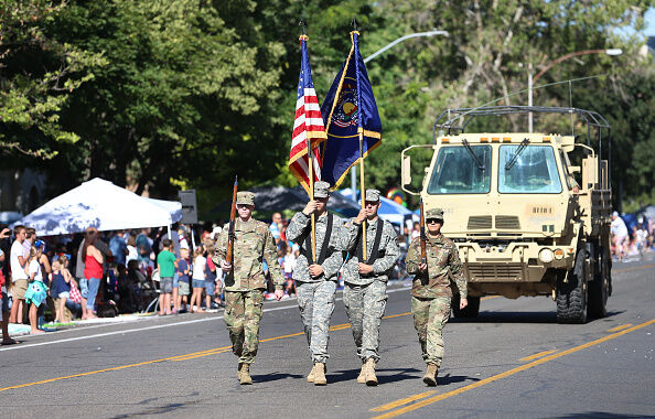 Military Parade in Utah-Getty Images